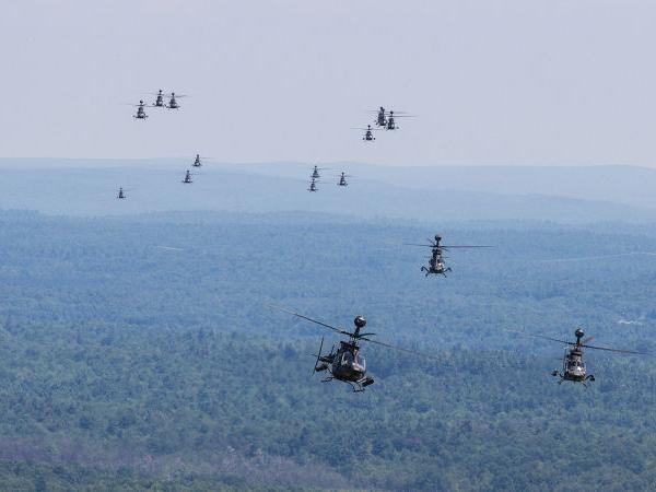 Phi đội trực thăng Kiowa Warrior của Mỹ