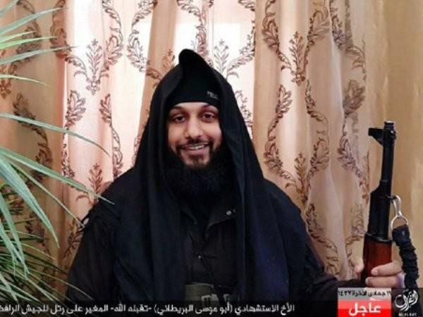 Hình ảnh được cho là của Abu Musa khi còn sống
