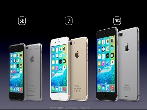 Ý tưởng đẹp về sản phẩm của Apple tương lai: iPhone SE, iPhone 7 và iPhone Pro ảnh 1