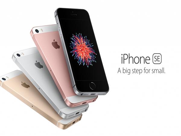 Điểm lại vài nét về iPhone SE, 5S, 6 và 6S ảnh 1