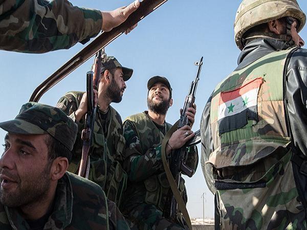 Các binh lính quân đội Syria (Ảnh minh họa)