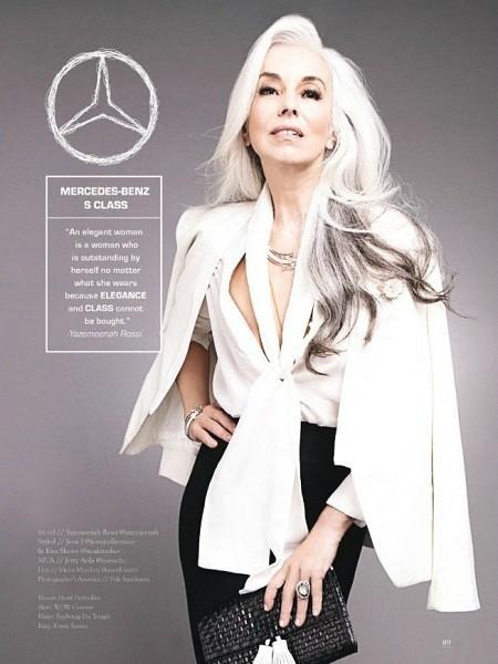 Yazemeenah Rossi là 'Mercedes-Benz S Class'