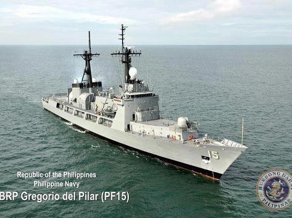 Tàu lớp Hamilton đầu tiên được Mỹ viện trợ cho Philippines