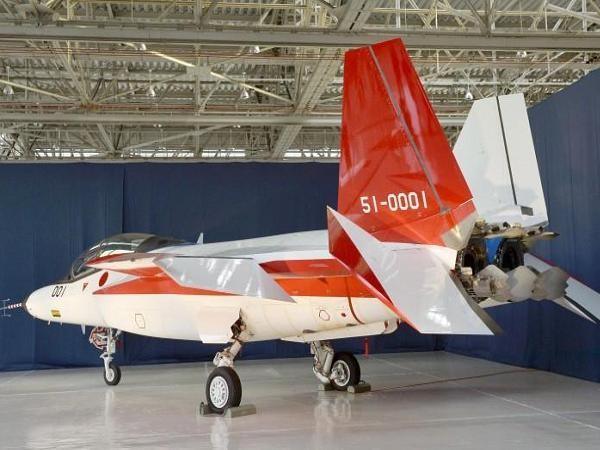 Máy bay chiến đấu tàng hình ATD-X của Nhật Bản
