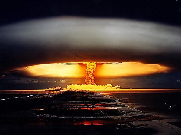 Một vụ nổ hạt nhân (Ảnh minh họa)