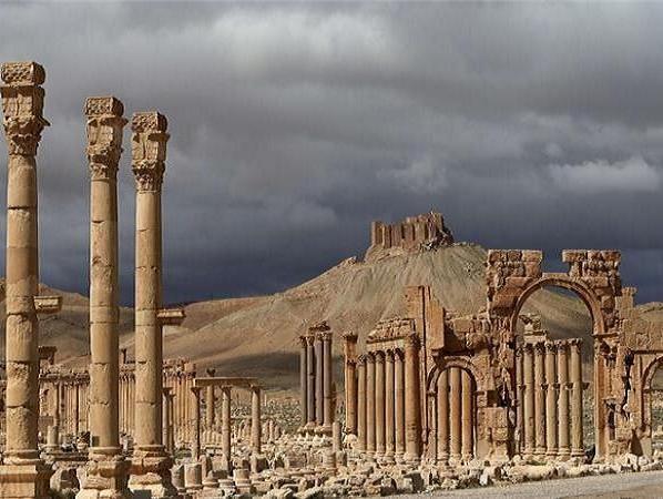 Pháo đài cổ Palmyra của Syria