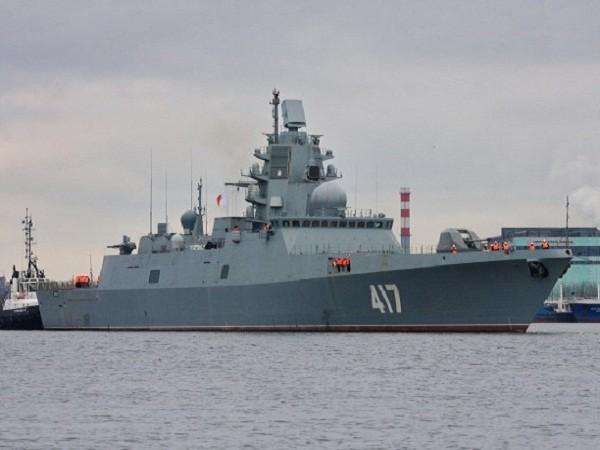 Tàu hộ tống Đô đốc Gorshkov của hải quân Nga