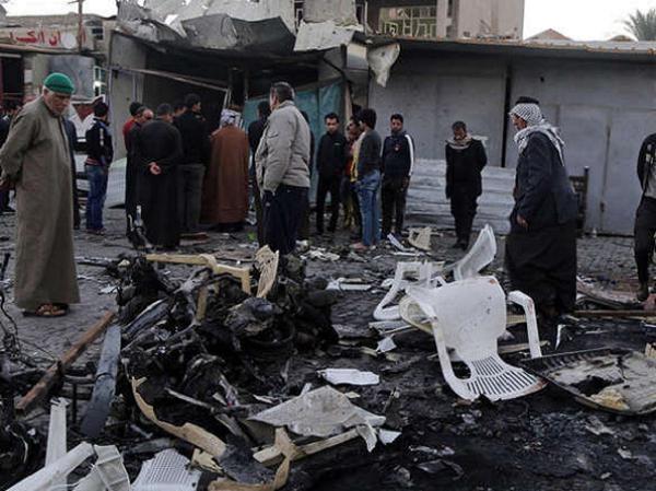 Một vụ đánh bom khủng bố tại Iraq (Ảnh minh họa)