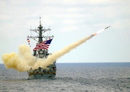 """Tàu khu trục và hệ thống đánh chặn trên bờ của hải quân Mỹ tại châu Âu được ví như """"sát thủ"""" đối với tên lửa của đối phương"""