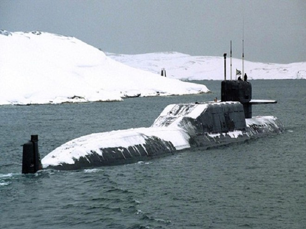 Tàu ngầm lớp Borei của Nga