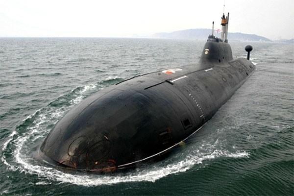 Tàu ngầm lớp Yasen của Nga