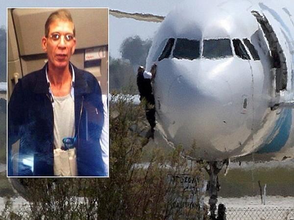 Chiếc máy bay bị không tặc và Seif Eldin Mustafa - thủ phạm bắt cóc máy bay