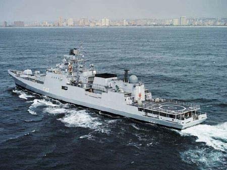 Tàu hộ vệ tên lửa Type-11356 do Nga chế tạo