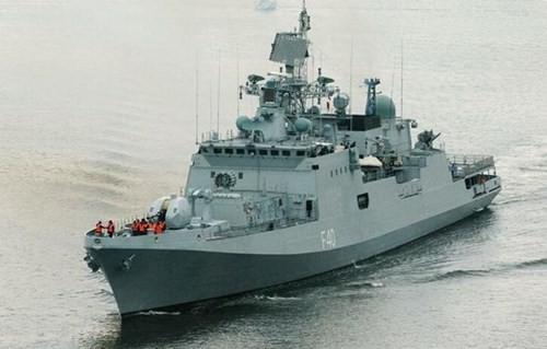 Tàu hộ vệ tên lửa Talwar Type 11356 của Hải quân Ấn Độ, do Nga chế tạo