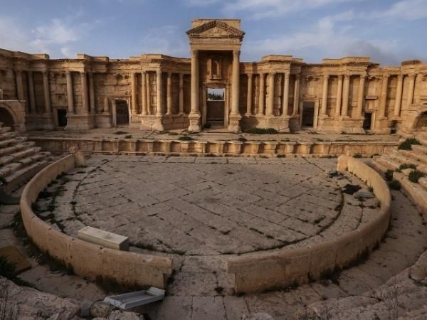 Thành cổ Palmyra sau giải phóng