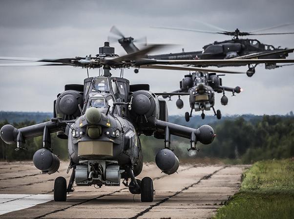 """Phiên bản """"Thợ săn đêm"""" Mi-28NE được nâng cấp rất mạnh so với trực thăng nguyên bản"""