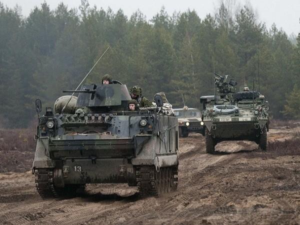 Lục quân Mỹ tham gia một cuộc diễn tập tại Litva