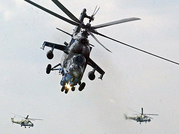 Máy bay trực thăng tấn công Mi-24 của Nga