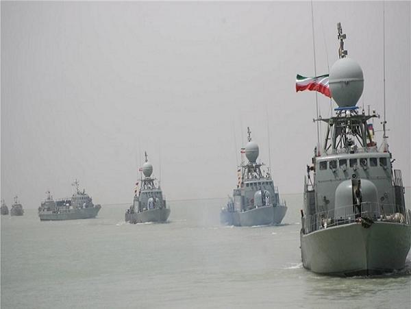 Một đội tàu chiến của hải quân Iran