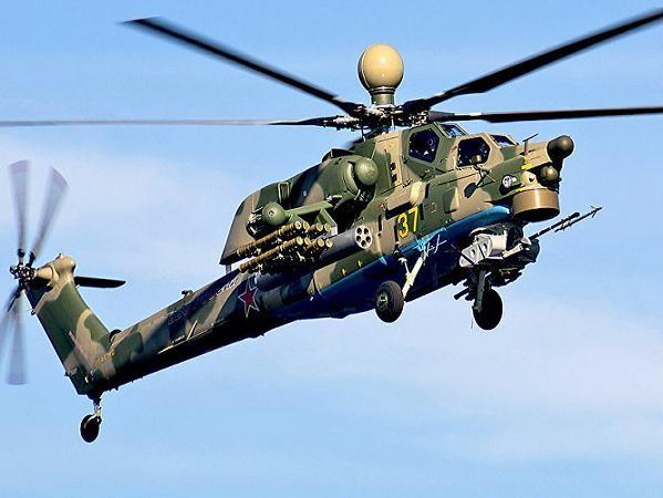 Máy bay trực thăng Mi-28N Night Hunter của không quân Nga