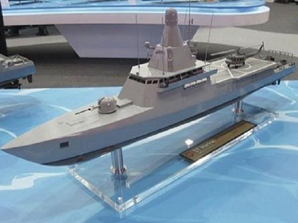 Mô hình thiết kế tàu tuần duyên LMV của Singapore