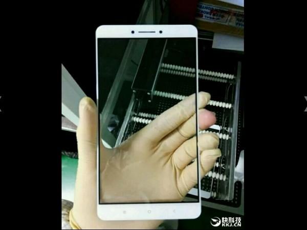 Rò rỉ hình ảnh mặt trước của Xiaomi Max, thật sự khổng lồ? ảnh 1