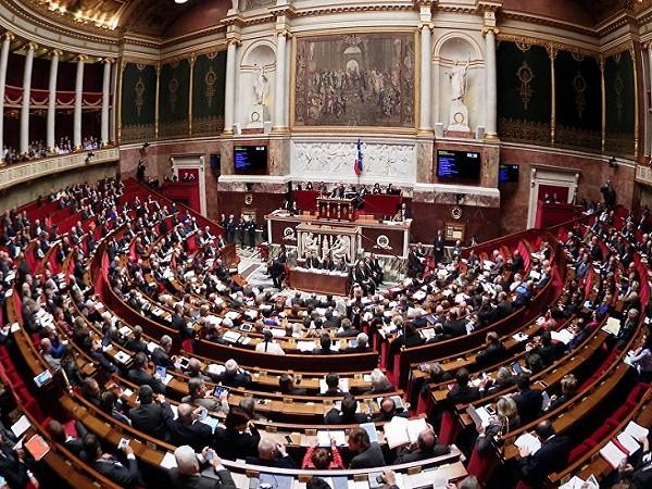 Một phiên họp của Quốc hội Pháp