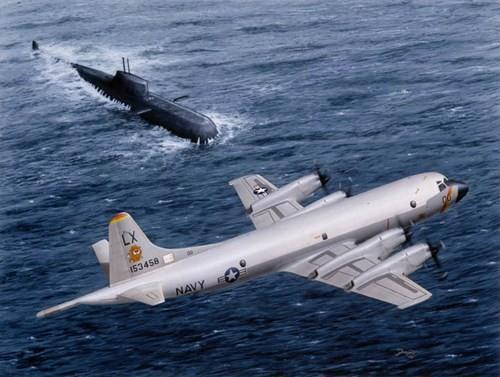 Máy bay tuần tiễu chống ngầm P-3C4 Orion của Mỹ