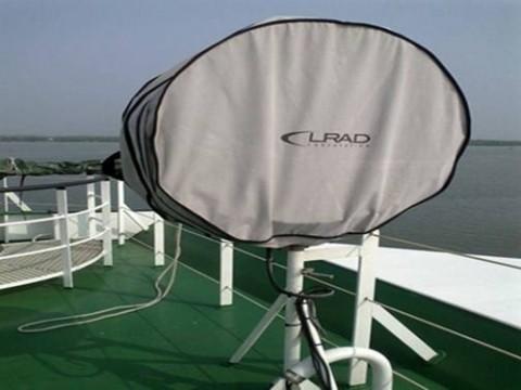 Vũ khí âm thanh LRAD 1000 Xi của Mỹ được trang bị trên tàu CSB