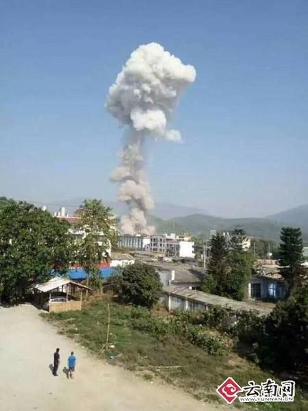 Myanmar xảy ra một vụ nổ kinh hoàng rung chấn tận Trung Quốc ảnh 3