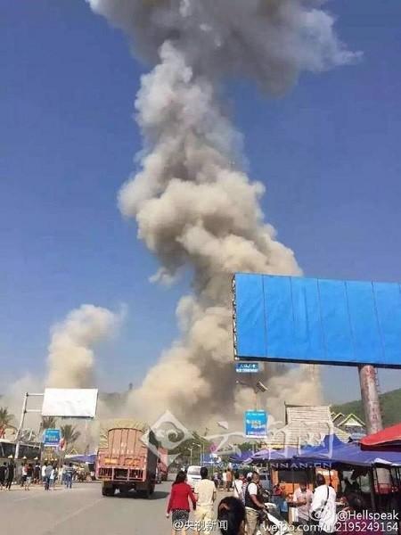 Myanmar xảy ra một vụ nổ kinh hoàng rung chấn tận Trung Quốc ảnh 5