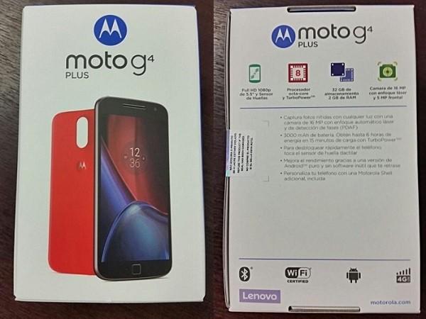 Moto G4 Plus lộ diện nguyên hộp trước ngày ra mắt