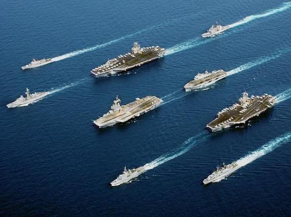 Mỹ và đồng minh liên tiếp tổ chức các cuộc tập trận nhằm vào Triều Tiên