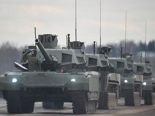 Xe tăng chiến đấu chủ lực Armata của Nga