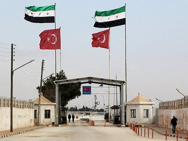 Cửa khẩu Bab al Salam do Thổ Nhĩ Kỳ kiểm soát