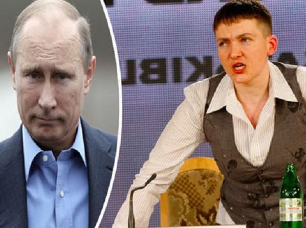 Nadia Savchenko thề sẽ chiến đấu cho Ukraine sau khi được ông Putin thả tự do