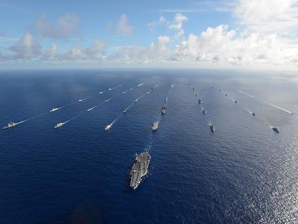 Các tàu chiến của Mỹ và đồng minh tham gia Diễn tập RIMPAC 2014