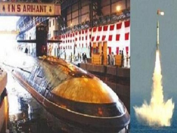 """Tàu ngầm """"INS Arihant"""" của Ấn Độ"""