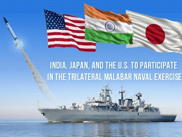 Mỹ, Ấn Độ và Nhật Bản tăng cường hợp tác đối phó Trung Quốc