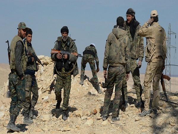 Các binh lính của quân đội Syria