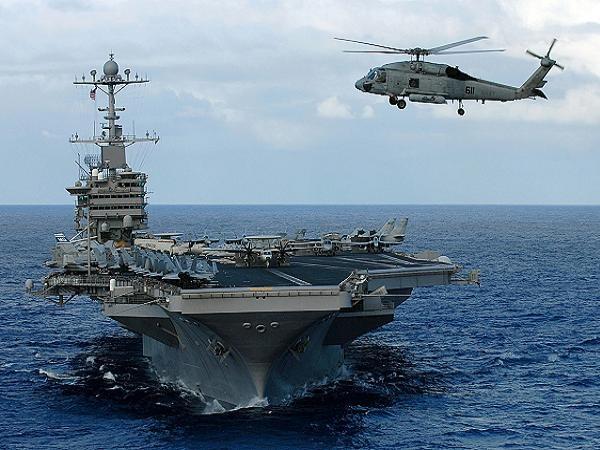 Tàu sân bay USS John C. Stennis (CVN 74) của hải quân Mỹ