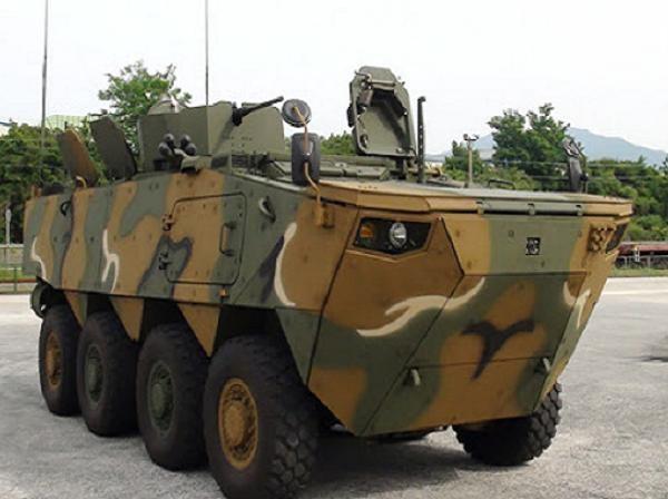 Xe bọc thép chiến đấu bộ binh K808 của Hàn Quốc