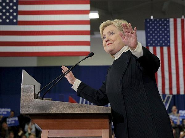 Ứng cử viên Tổng thống Mỹ Hillary Clinton