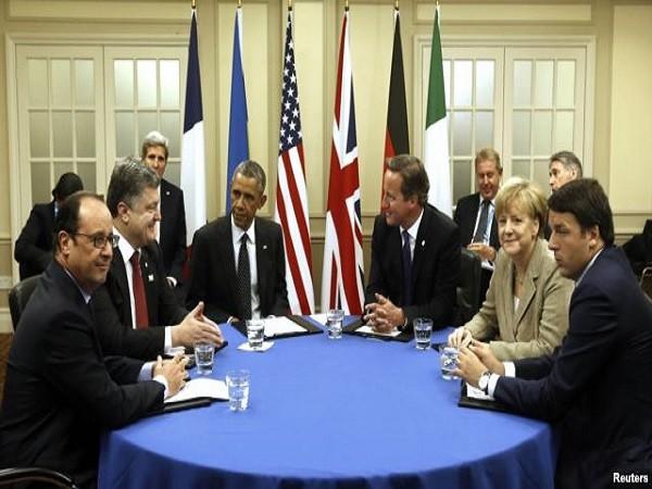Hội nghị Thượng đỉnh của NATO liên quan đến vấn đề Ukraine ngày 4-9-2014