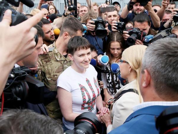 Nadia Savchenko: Nga có thể mở rộng biên giới đến Ba Lan và Đức ảnh 1