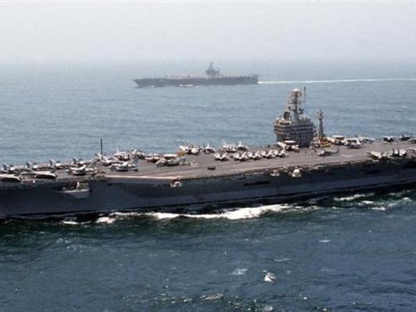 Tàu Eisenhower sẽ tham gia cùng với các cuộc không kích của Mỹ vào các mục tiêu của IS ở Iraq và Syria.