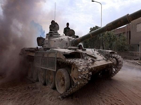 Quân đội Syria đánh bật phiến quân ra khỏi nhiều khu vực gần Damascus