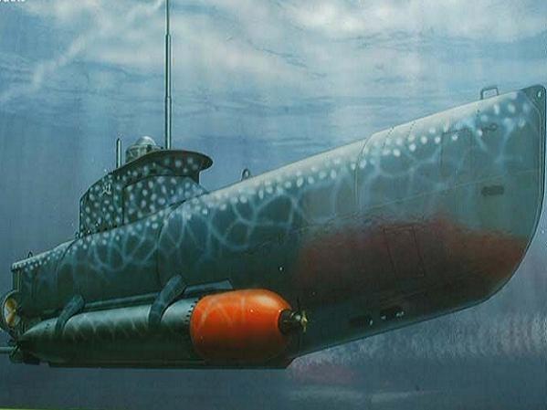 Tàu ngầm U-boat của Đức đã gây rất nhiều thiệt hại cho quân đồng minh