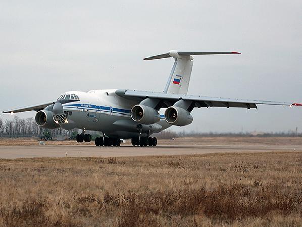 Máy bay vận tải quân sự hạng nặng Ilyushin Il-76-MD-90A của Nga