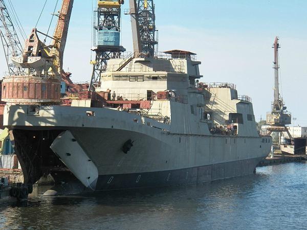 Tàu đổ bộ Ivan Gren của hải quân Nga